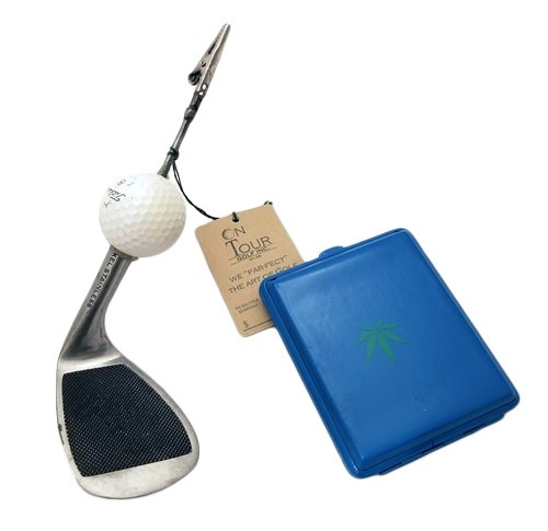 ParTee Golf Iron Smokers Clip